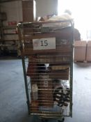 Combined RRP £300 Cage To Contain Part Lot Furniture, Miscellaneous Household Items