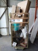 Combined RRP £300 Cage To Contain Part Lot Furniture, Frame, Toilet Seat, Decorative Ornament, Misce