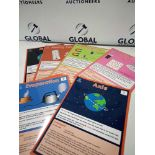 RRP £270 Lot To Contain 9 Packs Of 45 Brand New Bagged Science Vocabulary Cards For Key Stage 2 Lear