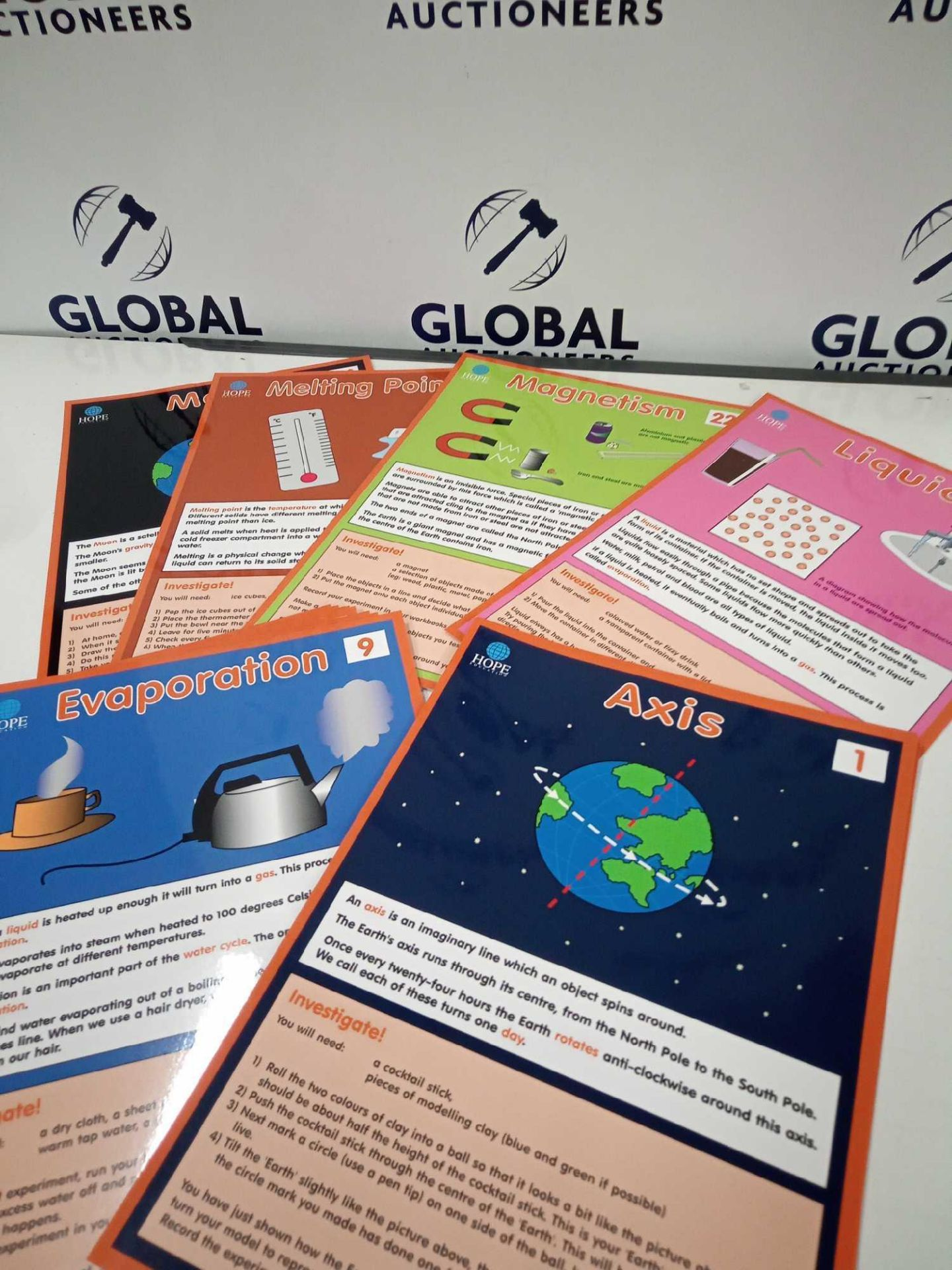 RRP £300 Lot To Contain 10 Packs Of 45 Brand New Bagged Science Vocabulary Cards For Key Stage 2 Lea