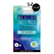 RRP £200 Gift Bag To Contain 50 Brand New Anti-Blue Light Sheet Face Masks With Ginger And Antioxida