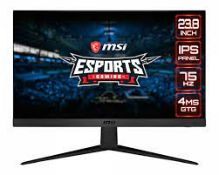 "RRP £110 MSI Optix G241V 23.8"""" LCD Full HD Gaming Monitor"