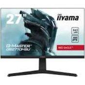 "RRP £235 iiyama G-Master Red Eagle GB2770HSU-B1 27"""" Full HD Monitor"
