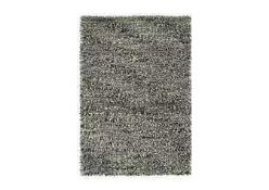 RRP £130 Bagged Cozee Home Shaggy Rug In Silver