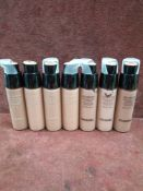 RRP £280 Lot To Contain 7 Testers Of 20Ml Chanel Les Beiges Healthy Glow Foundations In Assorted Sh