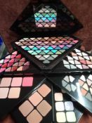 RRP £150 Gift Bag To Contain 3 Brand New Academy Of Colour Vegan Prism Face Palettes (Appraisals