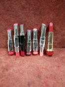 RRP £210 Lot To Contain 7 Testers Of Assorted Christian Dior Lipsticks In Varying Shades Ex-Display
