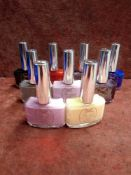 RRP £240 Lot To Contain 20 Tester Of Gelology Ciate Nail Polish Paint Pots In Assorted Colours Ex-
