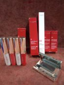 RRP £250 Lot To Contain 10 Testers Of Premium Assorted Clarins Makeup Products To Include Instant L