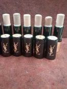 RRP £180 Lot To Contain 6 Yves Saint Laurent Touche Foundations In Assorted Shades Ex-Display