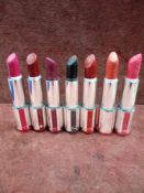RRP £210 Lot To Contain 7 Testers Of Givenchy Lipsticks In Assorted Shades Ex-Display