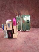 RRP £150 Lot To Contain 6 Brand New Boxed Testers Of Assorted Yves Saint Laurent Lipsticks In Vario