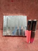 RRP £210 Lot To Contain 8 Brand New Boxed Testers Of Lancome Labsolu Velvet Matte Intense Colour Li