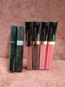 RRP £180 Lot To Contain 6 Testers Of Assorted Premium Chanel Makeup Products To Include Rouge Coco