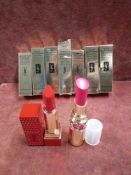 RRP £210 Lot To Contain 7 Brand New Boxed Testers Of Yves Saint Laurent Rouge Volupte Shine Oil In