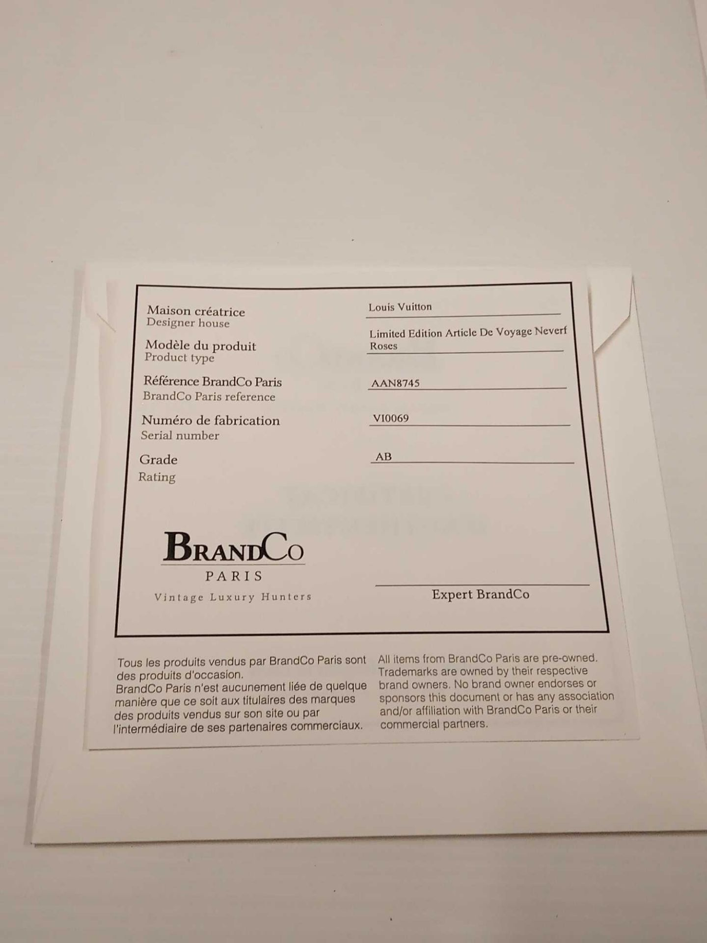 RRP £3000 Louis Vuitton Limited Edition Monogram Roses Shoulder Bag Aan8745, Grade Ab (Appraisals - Image 4 of 4