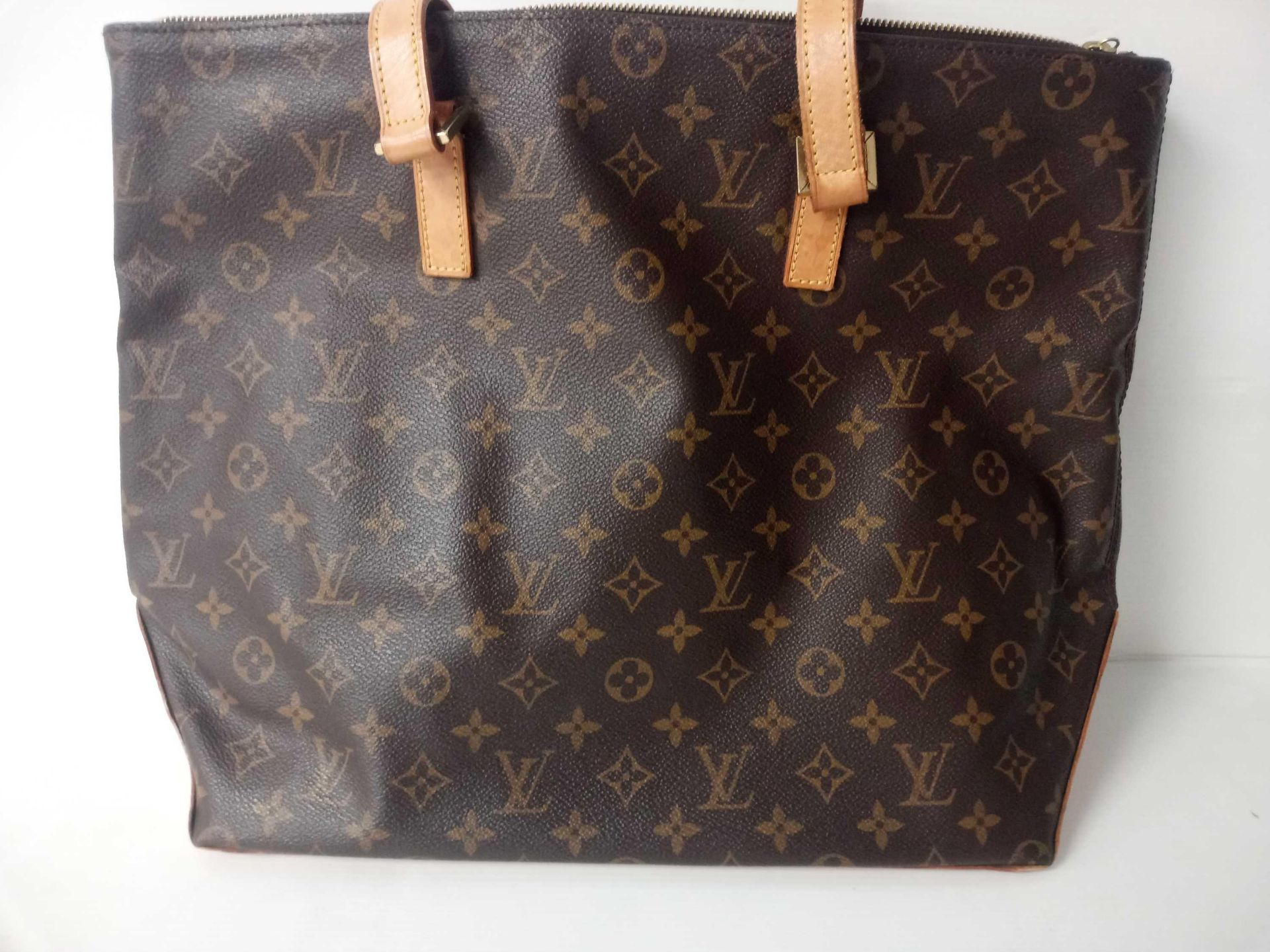 RRP £1020 Louis Vuitton Neverful Monogram Vuitton Leather Shoulder Bag (Appraisals Available On - Image 2 of 2