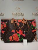 RRP £3000 Louis Vuitton Limited Edition Monogram Roses Shoulder Bag Aan8745, Grade Ab (Appraisals