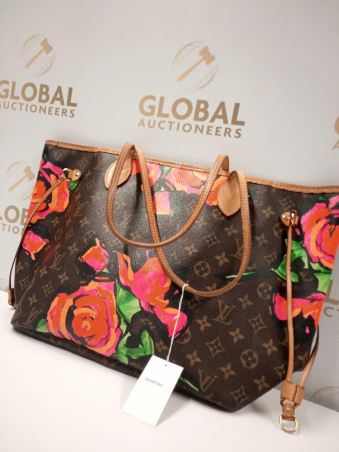 RRP £3000 Louis Vuitton Limited Edition Monogram Roses Shoulder Bag Aan8745, Grade Ab (Appraisals - Image 2 of 4