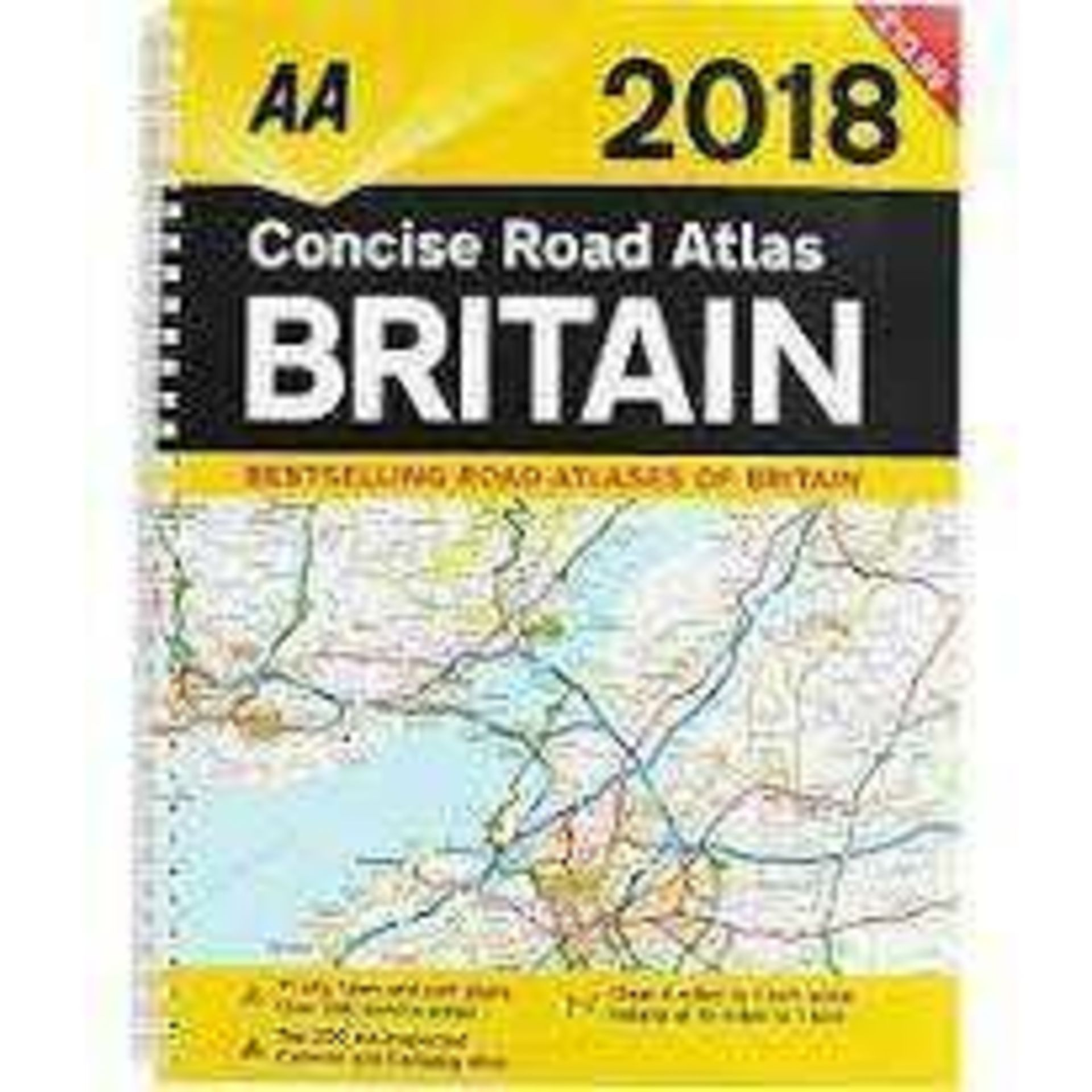 Combined RRP £5000 Pallet To Contain Bulk Lot Of Aa Concise Road Atlases Of Britain 2018( - Image 2 of 2