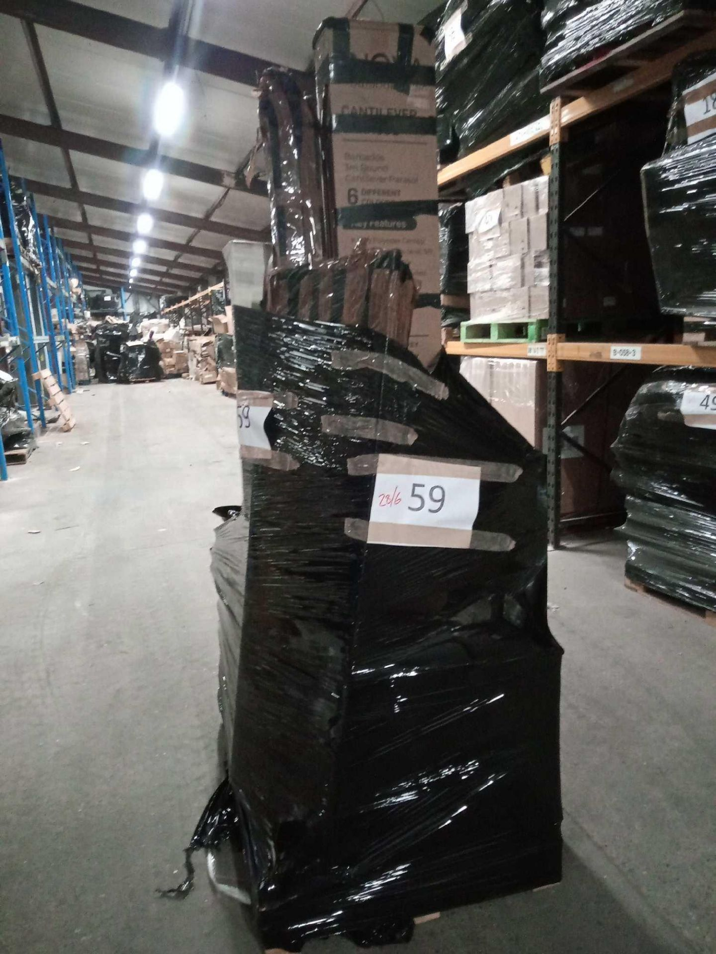 Combined RRP £600 Pallet To Contain Bulk Lot Of Transparent Yellow Plastic Tiles, Yellow Parchment - Image 3 of 3