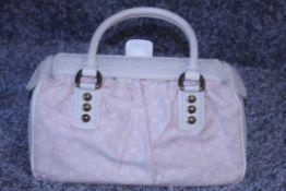 RRP £1,170 Louis Vuitton Trapeze Handbag Beige Monogram Canvas, 30x17x14cm (Production Code