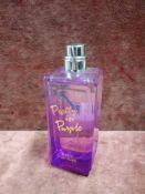 (Jb) RRP £60 Unboxed 75Ml Tester Bottle Of Juicy Couture Pretty In Purple Eau De Toilette Spray Ex-