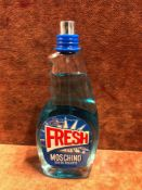 (Jb) RRP £70 Unboxed 100Ml Tester Bottle Of Moschino Fresh Couture Eau De Toilette Spray Ex-Display