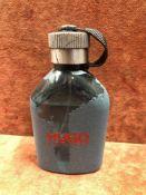 (Jb) RRP £60 Unboxed 125Ml Tester Bottle Of Hugo Boss Hugo Man Eau De Toilette Spray Ex-Display