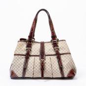 RRP £900 Celine Crocodile Shoulder Tote Bag in Brown - AAP4032 - Grade A Please Contact Us