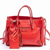 RRP £1240 Balenciaga Papier A6 Shoulder Bag in Red AAQ6156 - Grade A - Please Contact Us Directly