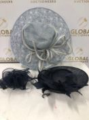 (AR) RRP £735 Lot To Contain 19 High End Fashion Woman's Special Event Headwear In Assorted Sizes An