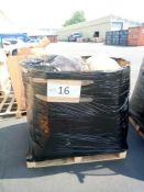 Combined RRP £1340 John Lewis Mega Pallet. Includes Soft Furnishings, Bins, Bedding, Frames,