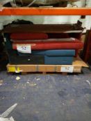 Combined RRP £500 Pallet To Contain Assorted Part Lot Designer Furniture. Includes Blue Woven Piece,