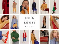 (Jb ) RRP £400 Lot To Contain Approximately 5 John Lewis And Partners Designer Fashion In Assorted S