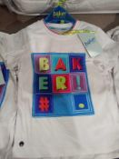 RRP £100 Combined Lot To Contain 5X Ted Baker Childrens T Shirts