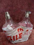 (Jb) RRP £120 Lot To Contain 2 Unboxed 100Ml Tester Bottles Of Paul Smith Rose Eau De Parfum Spray E