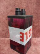 (Jb) RRP £100 Lot To Contain 2X Unboxed 100Ml Tester Bottles Of Elizabeth Arden Always Red Femme Spr