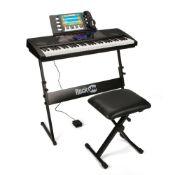 RRP £120 Boxed Rockjam Rj761-Sk Keyboard Super Kit