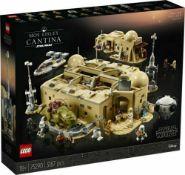 RRP £320 Boxed Star Wars Mo's Eisley Cantina Lego Set