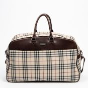 RRP £890 Burberry Vintage Large Boston - AAQ2583 - Grade A Please Contact Us Directly For Shipping
