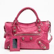 RRP £1670 Balenciaga Giant 12 City Fuchsia Shoulder Bag - AAQ6283 Grade A -Please Contact Us
