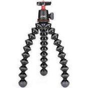 RRP £100 Combined Lot To Contain Unboxed X1 Joby Gorilla Pod , 1X Joby Grip Tight Pro