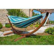 RRP £270 Boxed Rivere Natalia Double Hammock With Stand