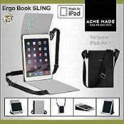 RRP £120 Combined Lot To Contain 3X Ergo Book Sling For Ipad Air