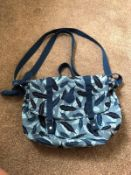 RRP £80 Lot To Contain 2 Assorted Medium Leaf Print Satchels And Tropical Leaves Hand Bags