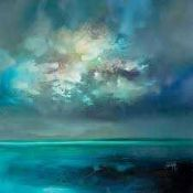 RRP £80 Lot To Contain 2 Scott Naismith Isle Of Skye Emerged Canvas Wall Art Pictures