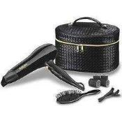RRP £75 Bagged Babyliss S229A High Performance Turbo Heat Tripple Setting Hair Dryer With Protective