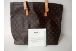 RRP £1020 Louis Vuitton Neverful Monogram Vuitton Leather Shoulder Bag