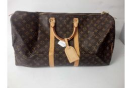 RRP £1400 Louis Vuitton Keepall Travel Bag Monogram Canvas Bag